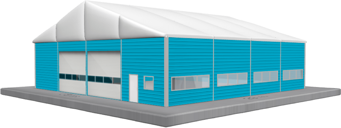 temporary buildings configurator